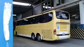 Rodoviária Novo Rio. Desfile de ônibus de viagem  busologo busologia