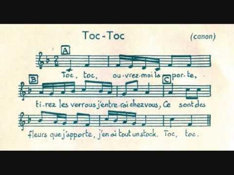 Toc, Toc - Canon