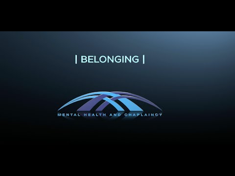 Faith Communities, Veterans and Mental Health:  Belonging