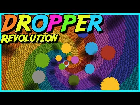 MINECRAFT - DROPPER: Revolution #2 - REGNBÅGS KAOS
