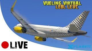 VUELING VIRTUAL ¡YA SOY PRIMER OFICIAL! LEBL-LEVC en IVAO X-PLANE 11 en ESPAÑOL [TOLISS A319]