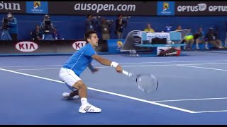 Murray and Djokovic trade blows - Australian Open 2015
