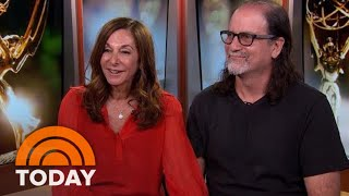 Emmys Lovebirds Glenn Weiss, Jan Svendsen On That Magical Proposal | TODAY