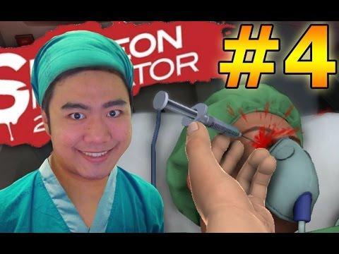 หมอฟันหรรษา! คนไข้พาเสียว! Surgeon Simulator PART 4 !!