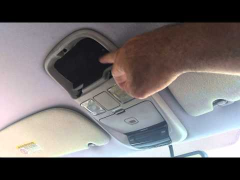 How To Fix Dodge Ram Overhead Console