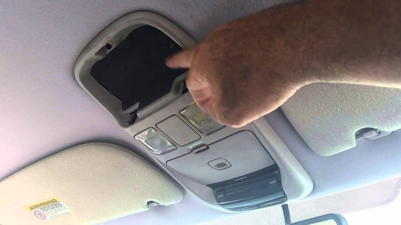 how to fix dodge ram overhead console youtube. Black Bedroom Furniture Sets. Home Design Ideas