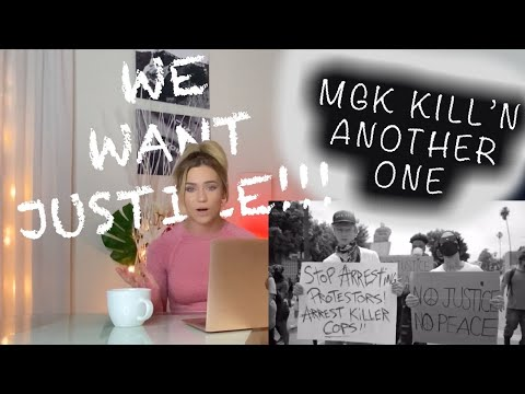 MACHINE GUN KELLY – KILLING IN THE NAME (Rage Against the Machine cover) REACTION || JESSICA SHEA