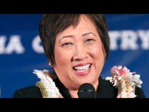 """""""One Person Every 8 Seconds Is Cut From Unemployment"""" - Rep. Colleen Hanabusa SOTU 2014 Reaction"""