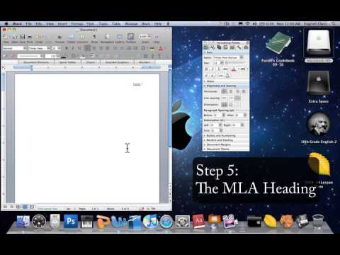 MLA Word Introduction YouTube