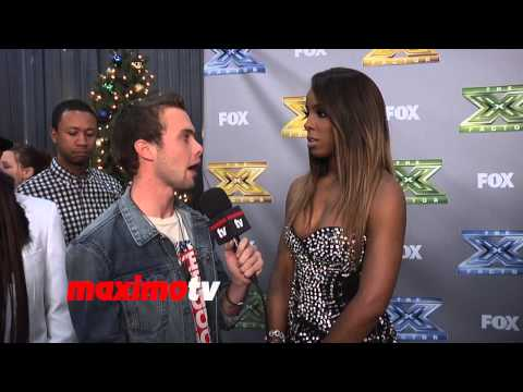 "Kelly Rowland Interview at ""The X Factor"" USA Season 3 Finale Night 2"