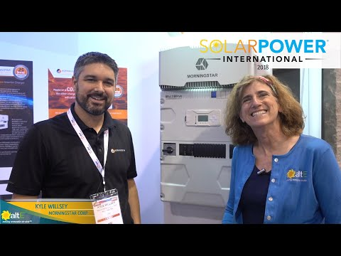 Morningstar MultiWave Solar Inverter/Charger at SPI2018
