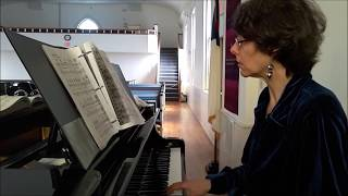 Video of Eclectic Mix by pianist Katherine Mayfield
