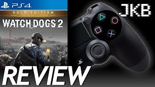 Watch Dogs 2 Review   PS4 2016   JKB