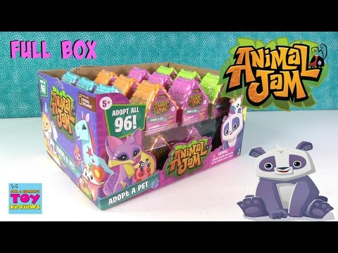 Animal Jam Adopt A Pet Blind Dens Bag Opening Toy Review | PSToyReviews