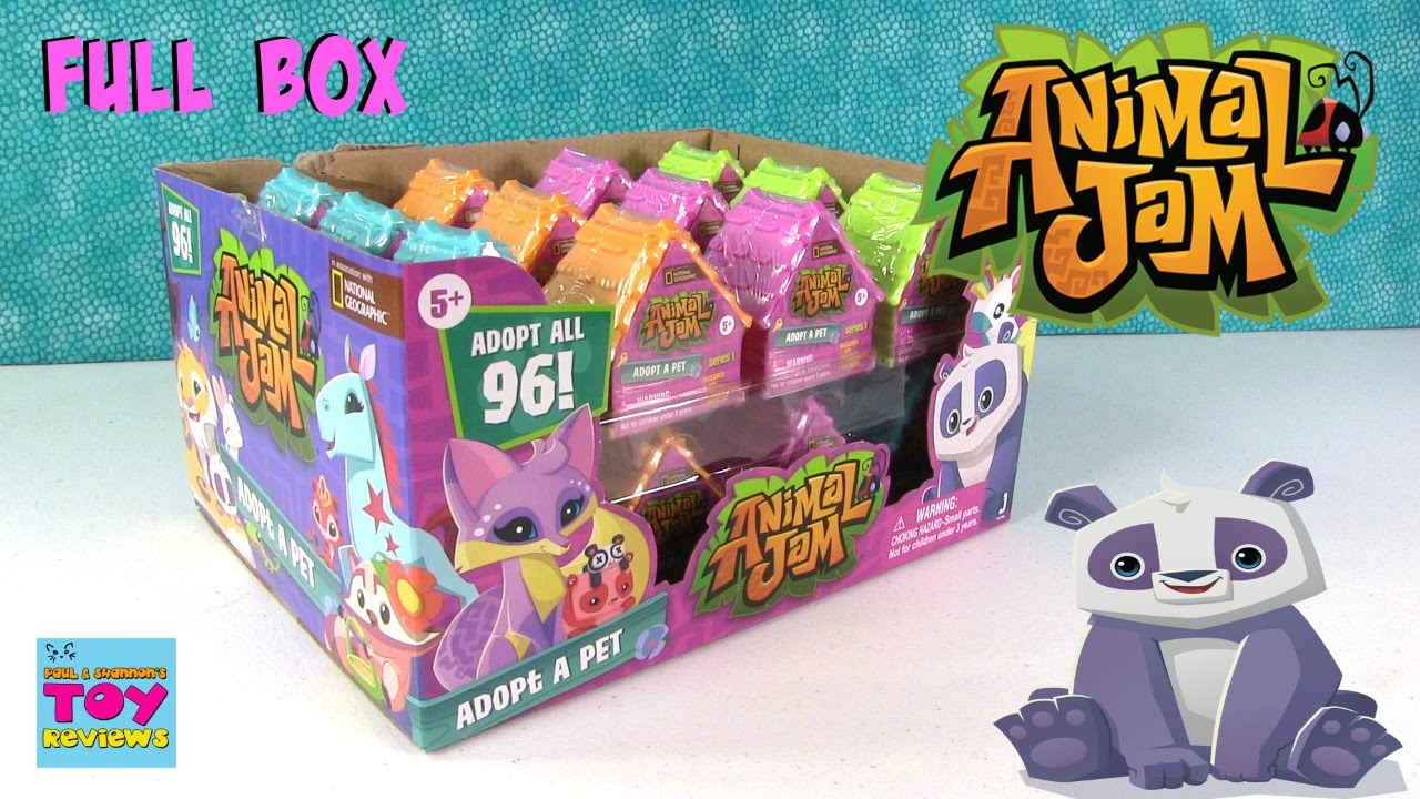 Animal Jam Adopt A Pet Blind Dens Bag Opening Toy Review