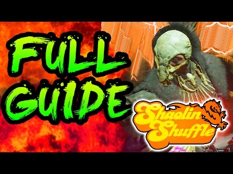 FULL SHAOLIN SHUFFLE EASTER EGG GUIDE EASTER EGG TUTORIAL & BOSS FIGHT INFINITE WARFARE ZOMBIES