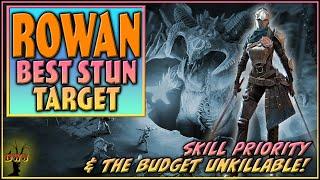 Rowan BEST Stun Target | Skill Priority & Budget Unkillable | Raid Shadow Legends