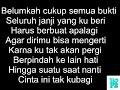 Ecko Show Feat Arlida Putri  Karna Su Sayang  Lyrik