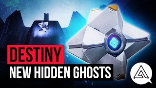 Destiny Age of Triumph | ALL 10 NEW HIDDEN GHOST LOCATIONS