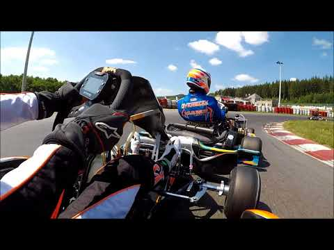 Onboard GoPro Rotax Max Senior | Circuit de Spa-Francorchamps | Dutch Rotax Max Challenge Round 5