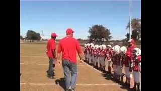 cougars 9u kids mighty mite youth football team end of season highlight video