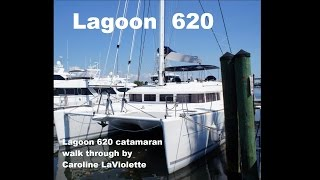 Lagoon 620 catamaran walkthrough presentation