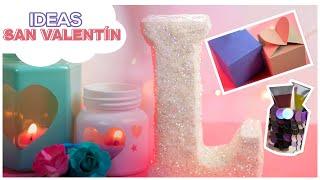 Ideas 14 de Febrero   Manualidades Recicladas para vender o Regalar   San Valentín