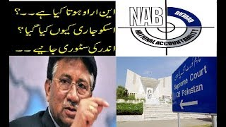 What is NRO released by Perwaiz musharraf