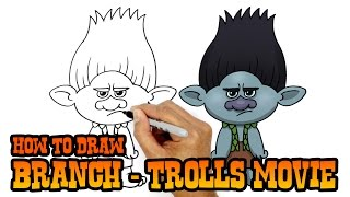 How to Draw Branch | Trolls