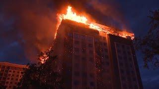 Пожар в Бишкеке: как тушить высотки?