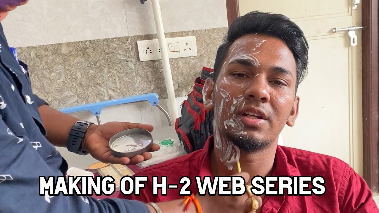 H-2 TELUGU WEB SERIES MAKING VIDEO | GIVEAWAY ALERT | Nabeel Afridi Vlogs