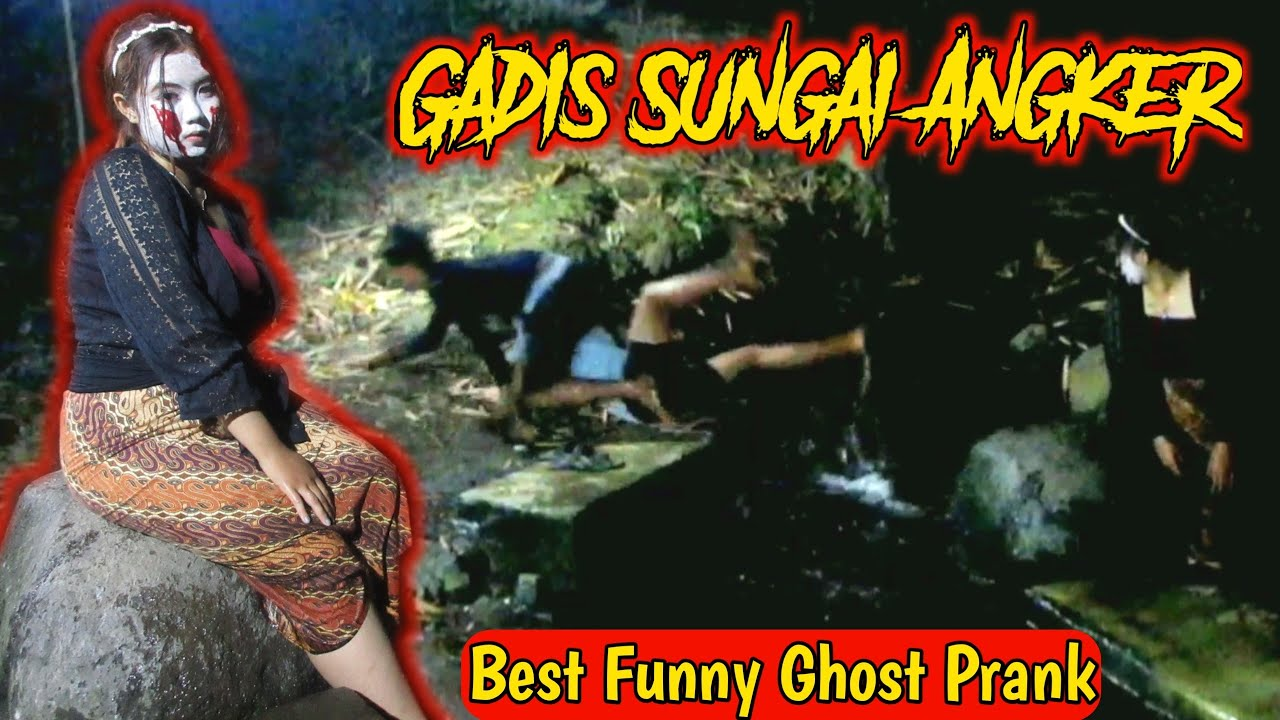 Download Prank Hantu Gadis Penghuni Sungai Angker    Heboh Bikin Ngakak    Best Funny Ghost Prank