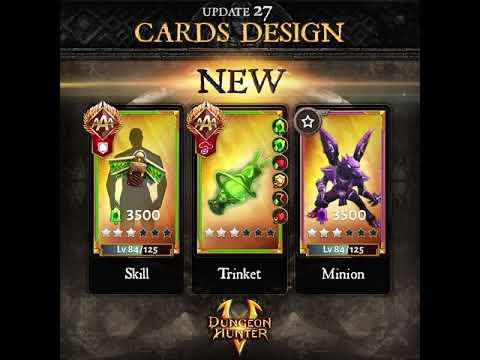 DH5 Update 27 Teaser - New Card Design
