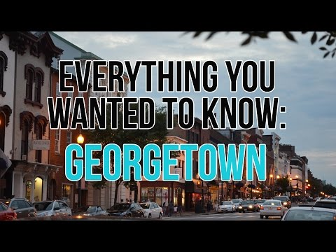 Georgetown DC Real Estate - Everything You Need To Know