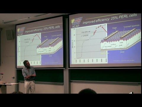 UNSW SPREE 201405-27 Martin Green - Evolution of High Efficiency Silicon Solar Cell Design 02 - 2014