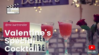 Kiss On The Lips | Valentine's Day Cocktail | The BarTrender Tube