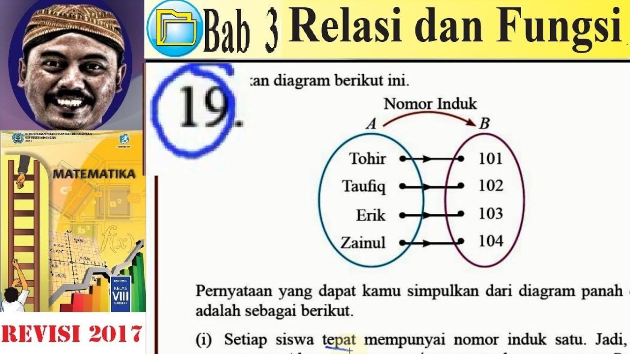 Relasi dan fungsi matematika kelas 8 bse k13 rev 2017 uk 3 pg no relasi dan fungsi matematika kelas 8 bse k13 rev 2017 uk 3 pg no 19 korespondensi satu satu ccuart Image collections