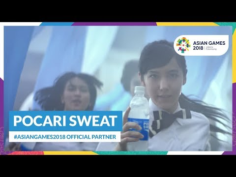 Pocari Sweat: #AsianGames2018 Official Partner