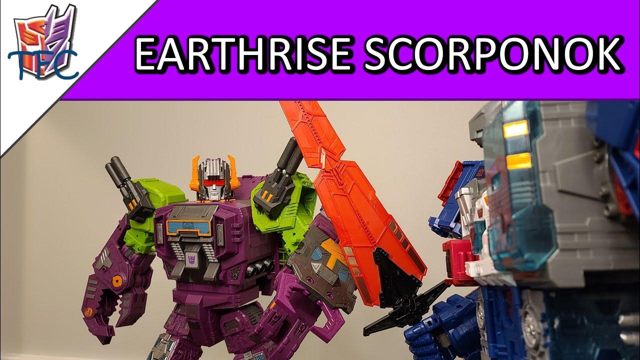 TF Collector Earthrise Scorponok Review!