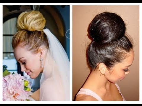 Wedding Updo inspired by Hilary Duff -itsJudyTime - YouTube