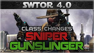 SWTOR 4.0 Sniper and Gunslinger Class Changes
