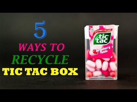 5 Creative Ways To Recycle Tic Tac Box