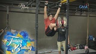 Tunay na Buhay: Jeric Gonzales, ipinakita ang kanyang fitness routine