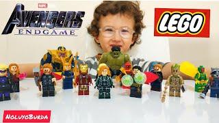 LEGO Avengers Oyuncak Videosu Yenilmezler End Game | Eglenceli Çocuk Videosu