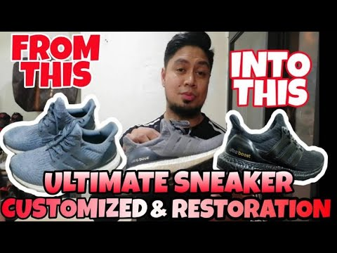 ukay-shoes-ginawang-brand-new-sneakers?-paano?-amazing-customized-/-restoration-sneaker
