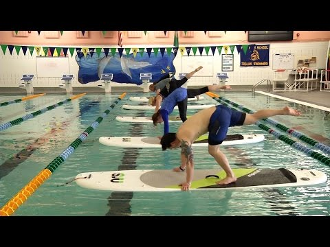 Fife offers indoor paddle board yoga for an adventurous workout