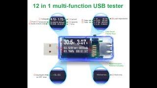 USB тестер Аtorch 12 в 1