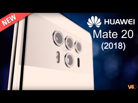 Huawei Mate 20 2018 First look, Release Date, Specs, Features, Quadruple Camera Smartphone, Concept