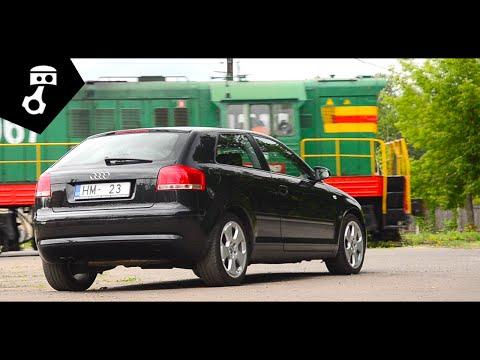 Audi A3 2.0TDI 8P1 Тест-драйв; ZhmuraTV