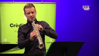 ANDREAS MADER – 1st ROUND – III ANDORRA INTERNATIONAL SAXOPHONE COMPETITION 2016